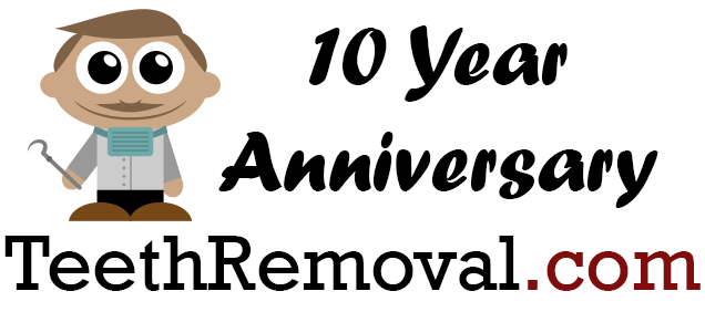 teethremoval dotcom ten year anniversary - Ten Year Anniversary of Teethremoval.com