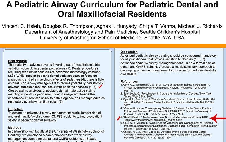 pediatric airway curriculum pediatric dental oral maxillofacial residents - TeethRemoval.com in the Scientific Literature
