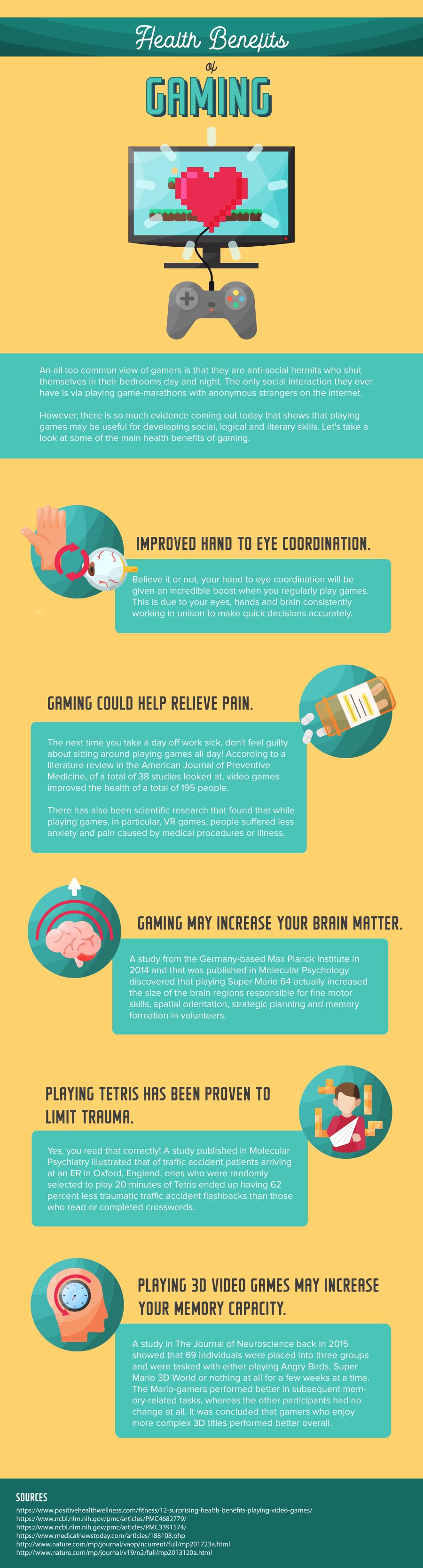 health benefits of gaming - Health Benefits of Gaming