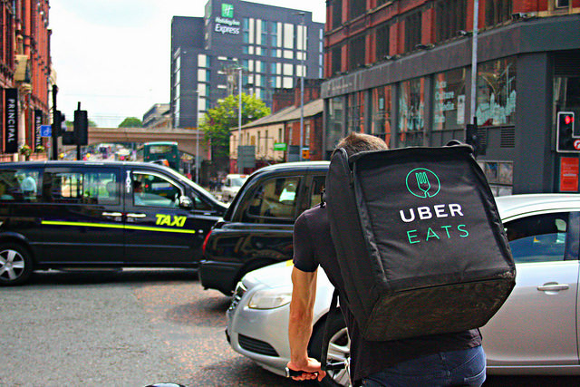 uber eats bike taxi - Food Delivery after Wisdom Teeth Removal